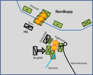 Battle of Nordkapp: Alliance Counterattacks